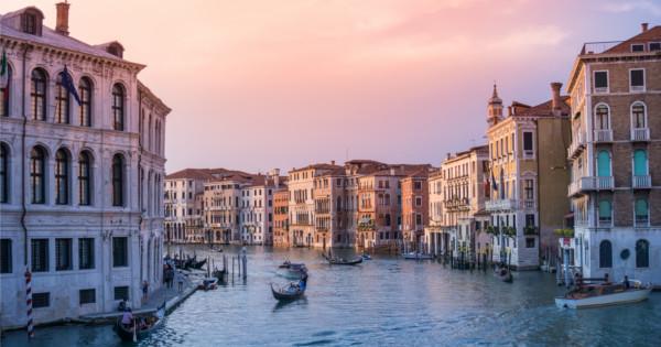 Magická atmosféra decembrových Benátok